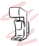 lancia del vapore della macchina del caffèe