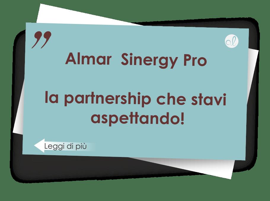 Progetto Almar Sinergy Pro, la partnership ideale per te